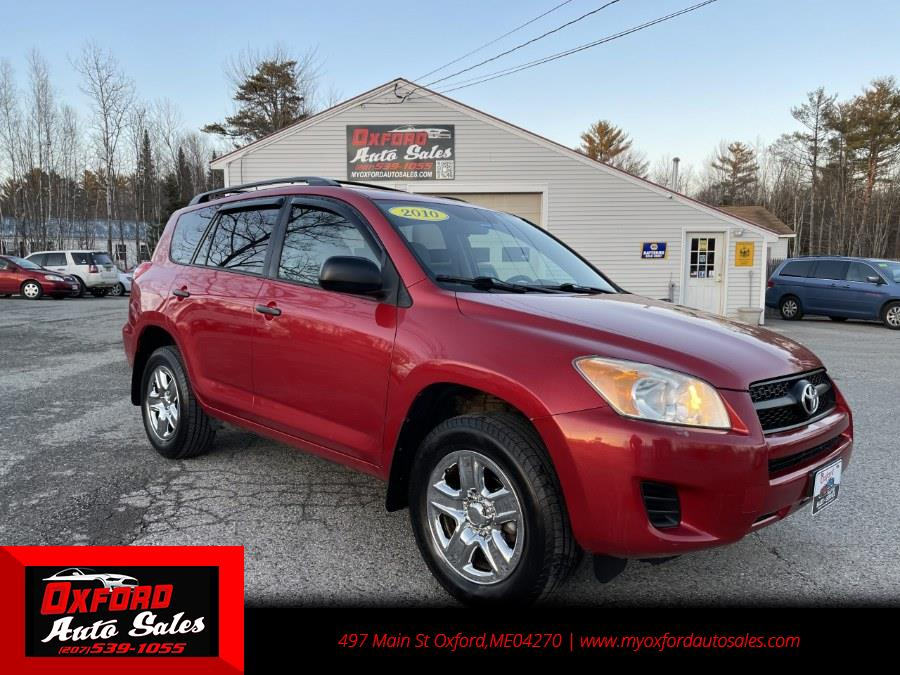 Used Toyota RAV4 4WD 4dr 4-cyl 4-Spd AT (Natl) 2010 | Oxford Auto Sales. Oxford, Maine