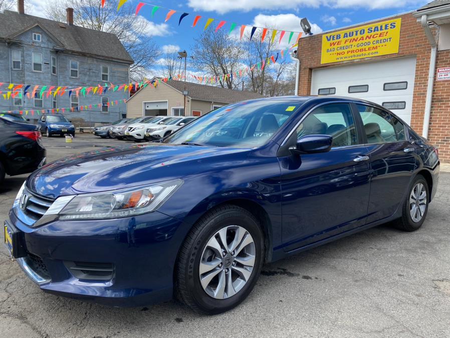 Used Honda Accord Sedan 4dr I4 CVT LX 2015 | VEB Auto Sales. Hartford, Connecticut