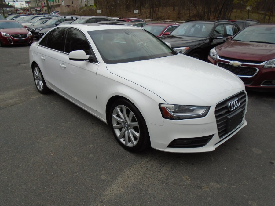 Used Audi A4 4dr Sdn Auto quattro 2.0T Premium Plus 2013 | Jim Juliani Motors. Waterbury, Connecticut