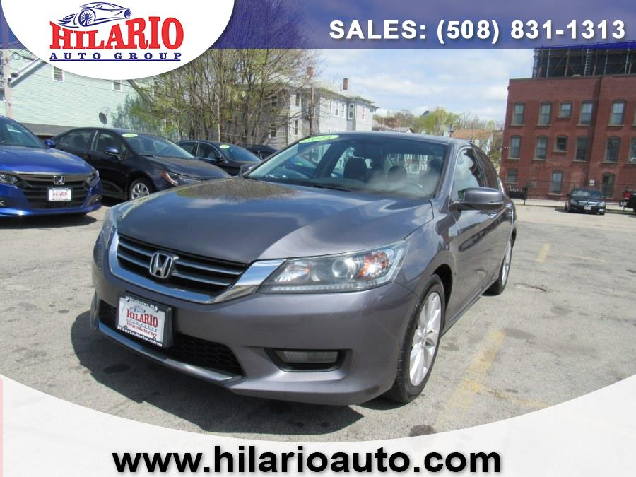 Used 2015 Honda Accord Sedan in Worcester, Massachusetts | Hilario's Auto Sales Inc.. Worcester, Massachusetts
