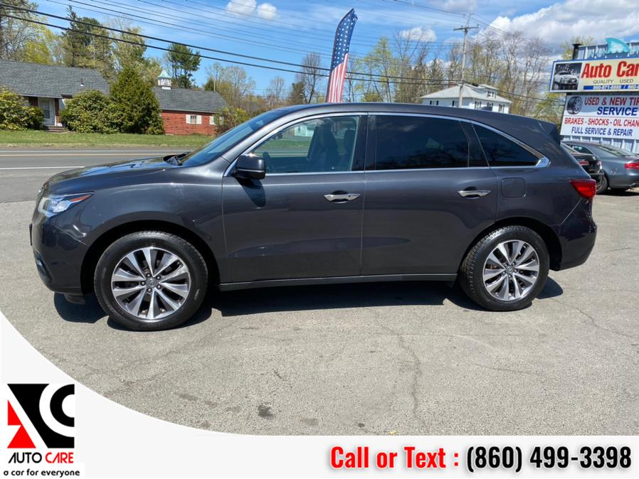 Used Acura MDX SH-AWD 4dr w/Tech/AcuraWatch Plus 2016   Auto Care Motors. Vernon , Connecticut