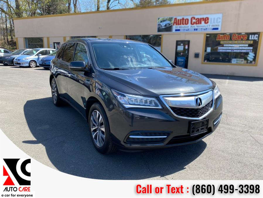 Used Acura MDX SH-AWD 4dr w/Tech/AcuraWatch Plus 2016 | Auto Care Motors. Vernon , Connecticut