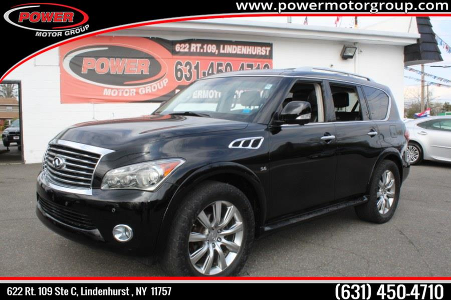 Used 2014 INFINITI QX80 in Lindenhurst , New York | Power Motor Group. Lindenhurst , New York