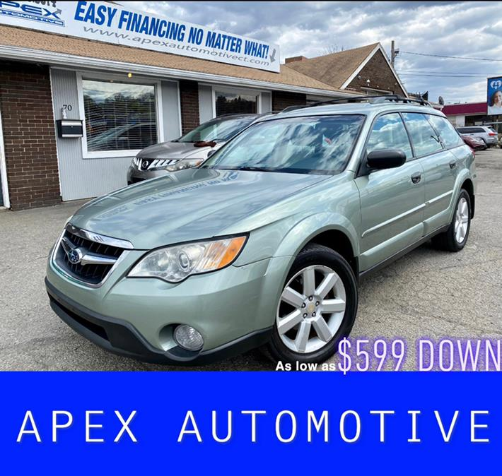 Used Subaru Outback 4dr H4 Auto 2.5i Special Edtn PZEV 2009 | Apex  Automotive. Waterbury, Connecticut