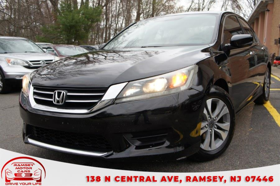 Used Honda Accord Sedan 4dr I4 CVT LX 2014 | Ramsey Motor Cars Inc. Ramsey, New Jersey