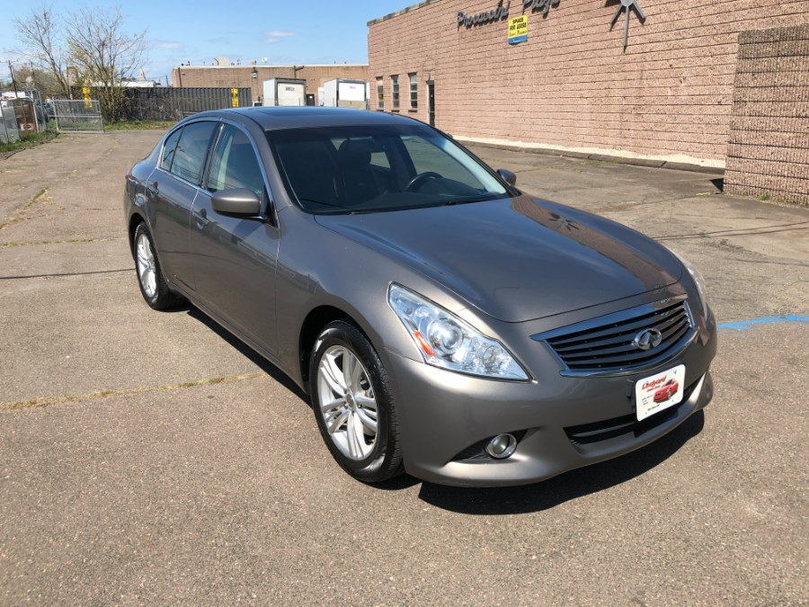 Used 2012 INFINITI G37 Sedan in Hartford , Connecticut | Ledyard Auto Sale LLC. Hartford , Connecticut