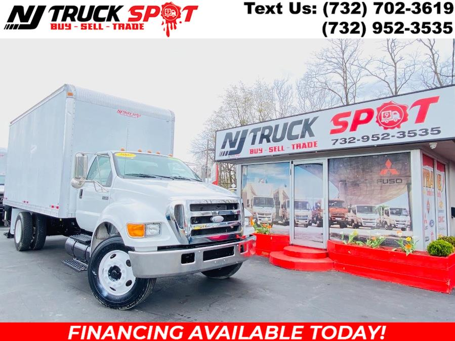 Used 2007 Ford Super Duty F-750 Straight Frame in South Amboy, New Jersey | NJ Truck Spot. South Amboy, New Jersey