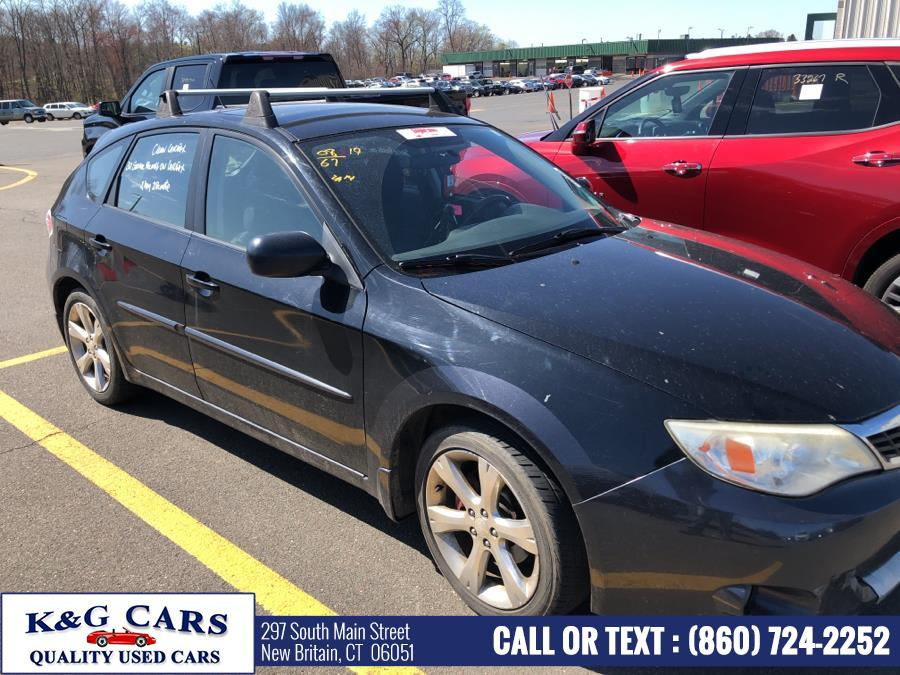 Used Subaru Impreza Wagon 5dr Man Outback Sport 2008 | K and G Cars . New Britain, Connecticut