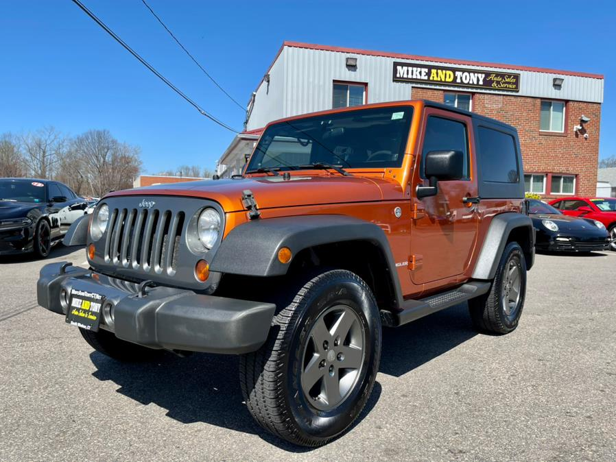 Used Jeep Wrangler 4WD 2dr Mountain 2010 | Mike And Tony Auto Sales, Inc. South Windsor, Connecticut