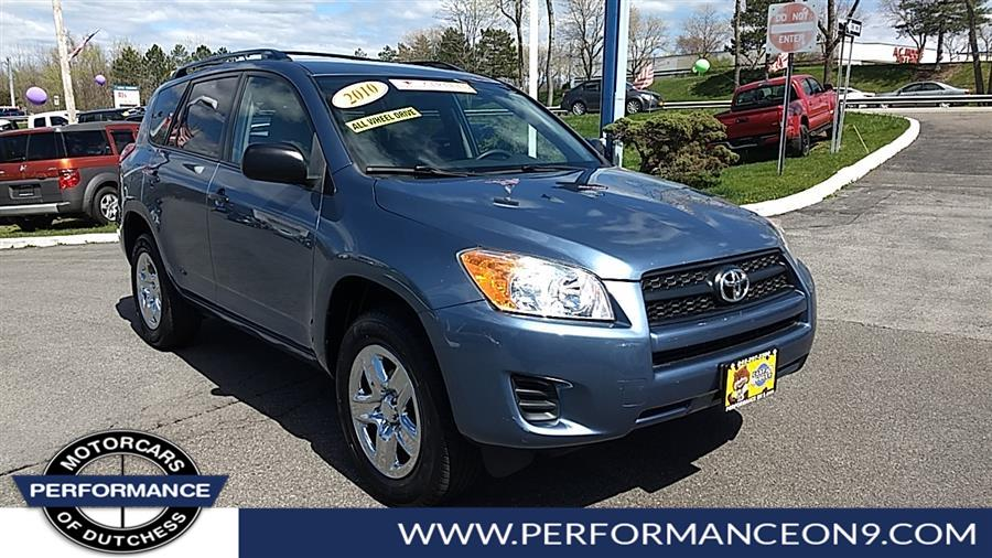 Used Toyota RAV4 4WD 4dr 4-cyl 4-Spd AT (Natl) 2010 | Performance Motorcars Inc. Wappingers Falls, New York