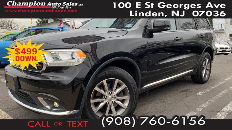 Used 2014 Dodge Durango in Linden, New Jersey | Champion Used Auto Sales. Linden, New Jersey