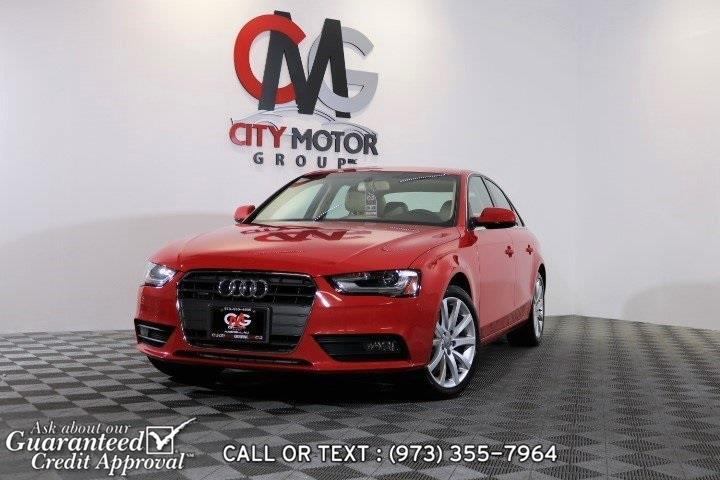 Used 2013 Audi A4 in Haskell, New Jersey | City Motor Group Inc.. Haskell, New Jersey