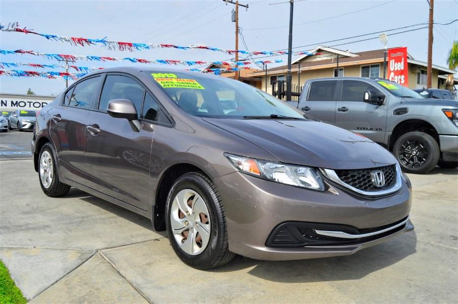 Used Honda Civic Sdn 4dr Auto LX 2013 | Fusion Motors Inc. Moreno Valley, California