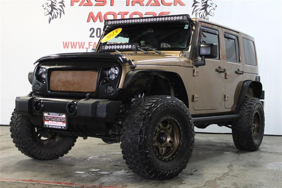 Used Jeep Wrangler Unlimited SAHARA 2015 | Fast Track Motors. Paterson, New Jersey