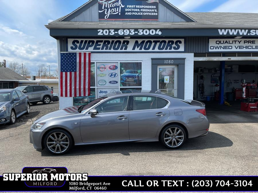 Used 2013 Lexus GS350 GS 350 FSPORT CRAFTED LINE in Milford, Connecticut | Superior Motors LLC. Milford, Connecticut
