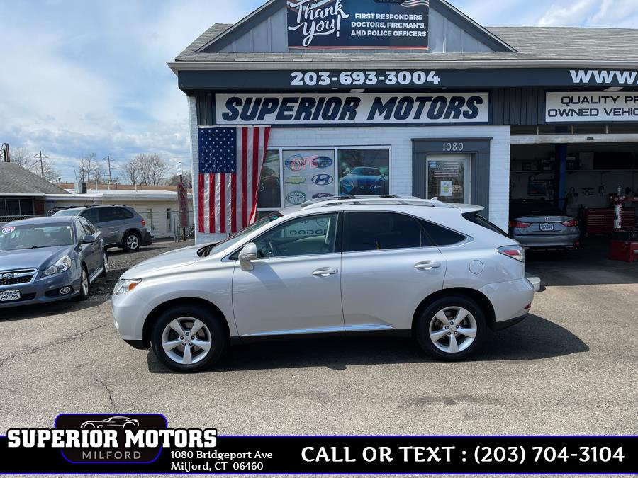 Used 2010 Lexus RX350 RX 350 FWD in Milford, Connecticut | Superior Motors LLC. Milford, Connecticut