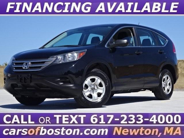 Used Honda CR-V AWD 5dr LX 2014 | Cars of Boston. Newton, Massachusetts