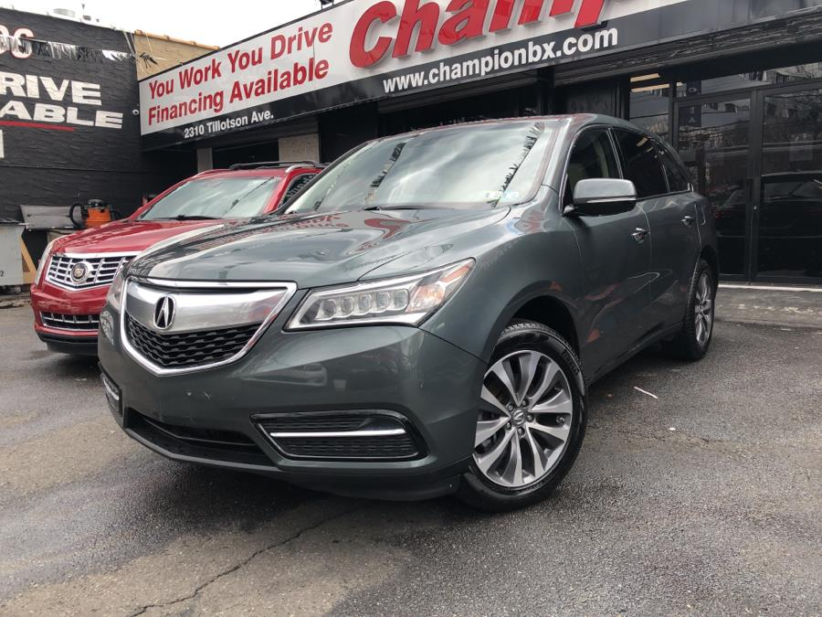 Used 2015 Acura MDX in Bronx, New York | Champion Auto Sales Of The Bronx. Bronx, New York