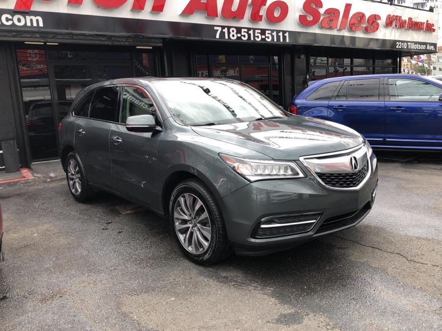 Used Acura MDX SH-AWD 4dr Tech/Entertainment Pkg 2015 | Champion Auto Sales Of The Bronx. Bronx, New York