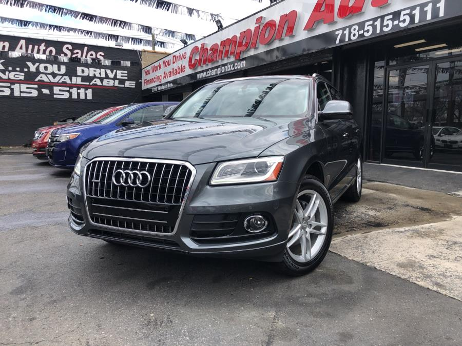 Used 2016 Audi Q5 in Bronx, New York | Champion Auto Sales Of The Bronx. Bronx, New York