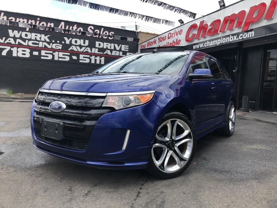 Used 2013 Ford Edge in Bronx, New York | Champion Auto Sales Of The Bronx. Bronx, New York