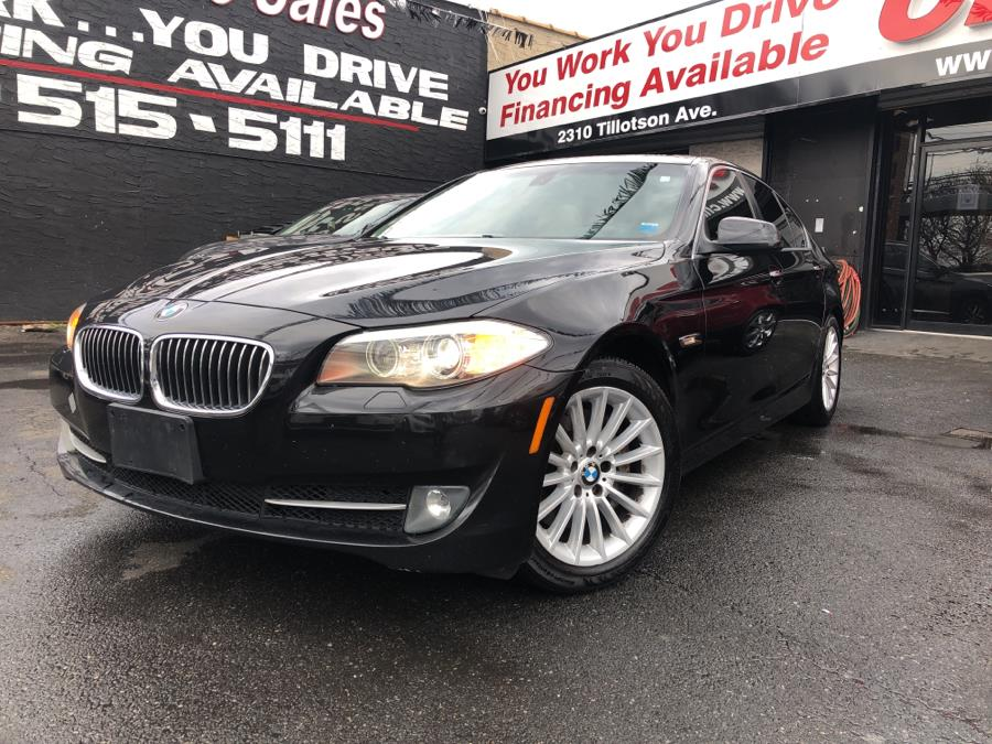 Used 2011 BMW 5 Series in Bronx, New York | Champion Auto Sales Of The Bronx. Bronx, New York