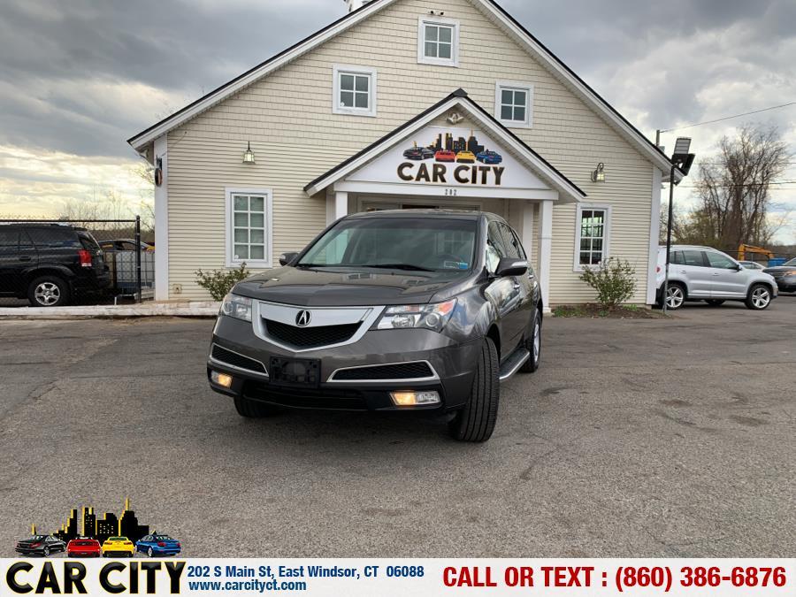 Used Acura MDX AWD 4dr Tech Pkg 2012 | Car City LLC. East Windsor, Connecticut