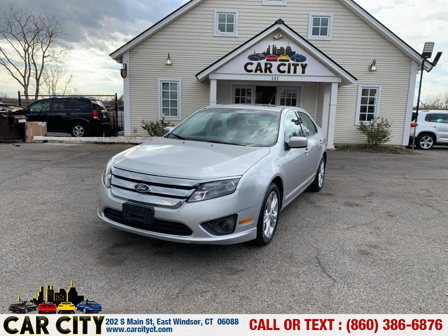 Used Ford Fusion 4dr Sdn SE FWD 2012 | Car City LLC. East Windsor, Connecticut