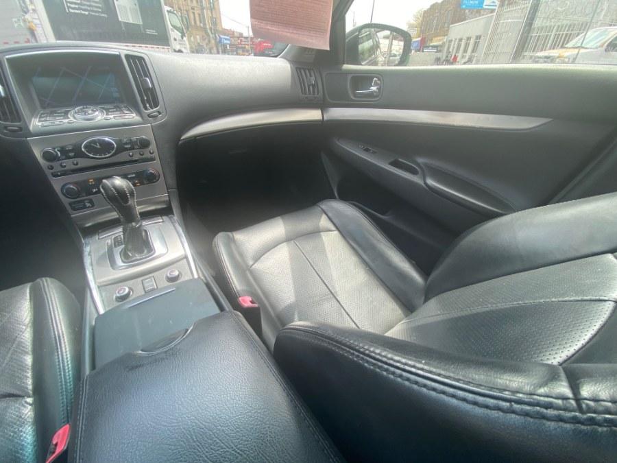Used Infiniti G37 Sedan 4dr x AWD 2012 | Wide World Inc. Brooklyn, New York