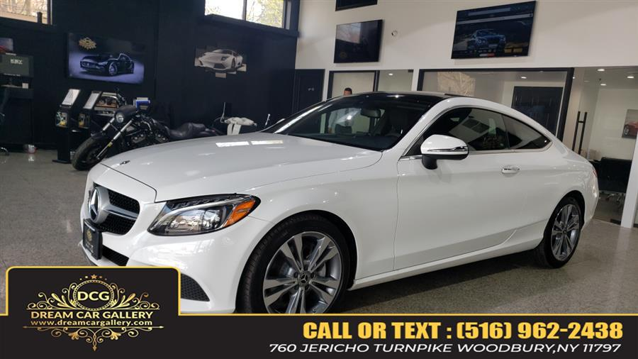 Used Mercedes-Benz C-Class C 300 4MATIC Coupe 2018 | Dream Car Gallery. Woodbury, New York