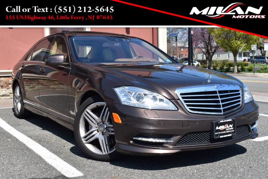 Used Mercedes-Benz S-Class 4dr Sdn S 550 4MATIC 2013 | Milan Motors. Little Ferry , New Jersey
