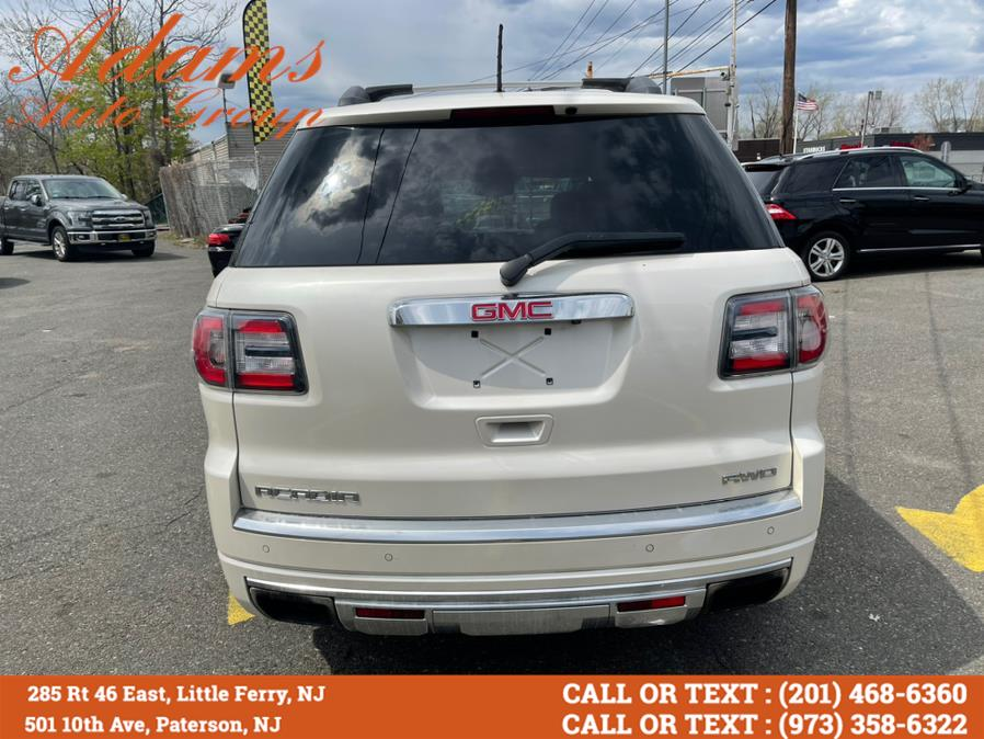 Used GMC Acadia AWD 4dr Denali 2014 | Adams Auto Group . Little Ferry , New Jersey