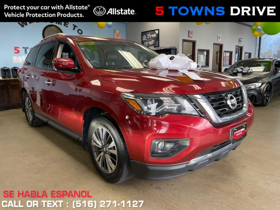 Used Nissan Pathfinder 4x4 SL 2017 | 5 Towns Drive. Inwood, New York