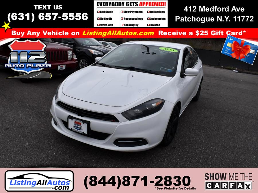 Used Dodge Dart 4dr Sdn SXT 2015 | www.ListingAllAutos.com. Patchogue, New York