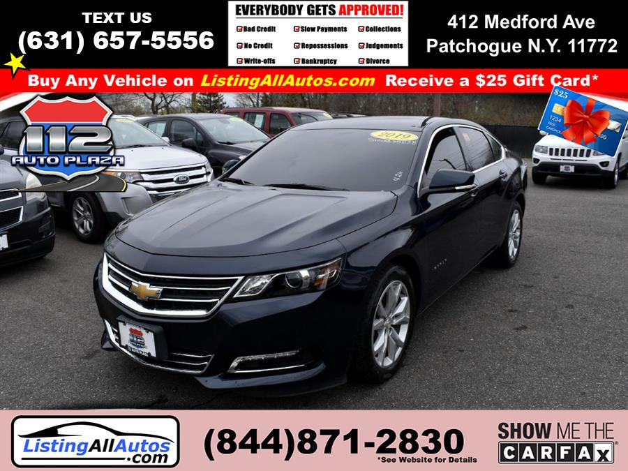 Used 2019 Chevrolet Impala in Patchogue, New York | www.ListingAllAutos.com. Patchogue, New York