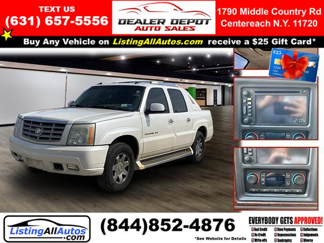 Used Cadillac Escalade Ext 4dr AWD 2005 | www.ListingAllAutos.com. Patchogue, New York