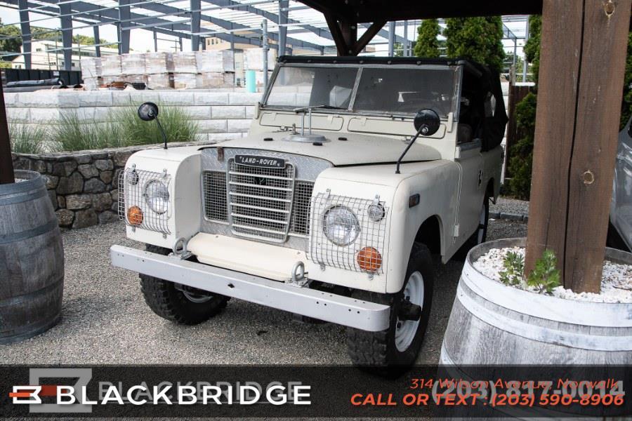 Used Land Rover Series 3 1974 | Black Bridge Motors, LLC. Norwalk, Connecticut