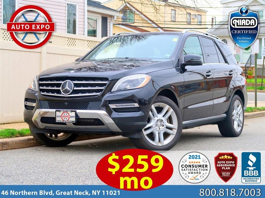 Used 2015 Mercedes-benz M-class in Great Neck, New York | Auto Expo Ent Inc.. Great Neck, New York