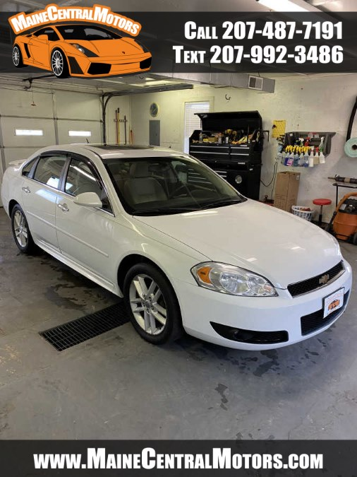 Used Chevrolet Impala 4dr Sdn LTZ 2012   Maine Central Motors. Pittsfield, Maine