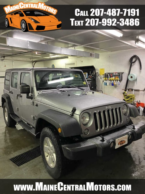 Used Jeep Wrangler Unlimited 4WD 4dr Sport 2015 | Maine Central Motors. Pittsfield, Maine