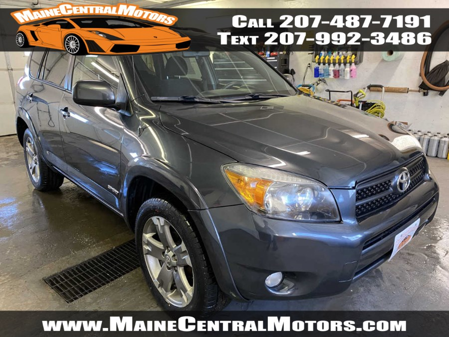 Used Toyota RAV4 4WD 4dr 4-cyl Sport 2007 | Maine Central Motors. Pittsfield, Maine