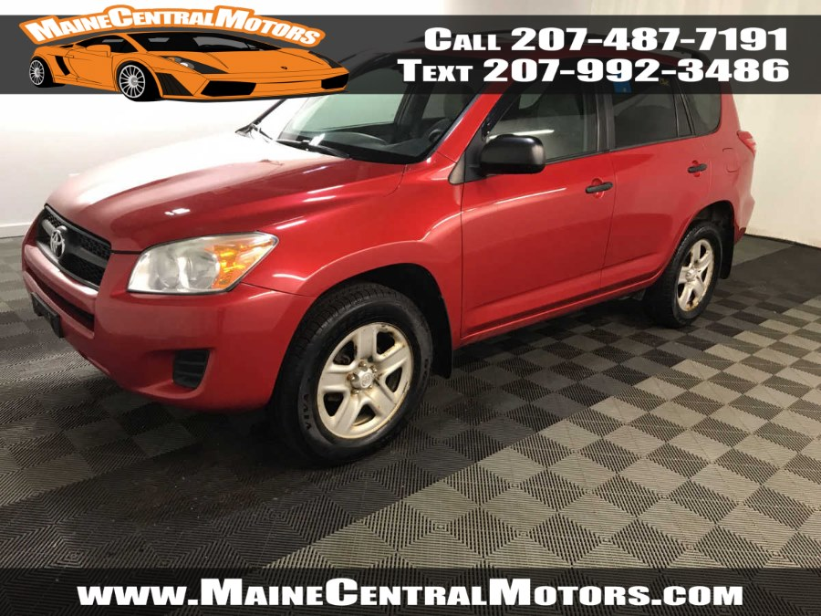 Used Toyota RAV4 4WD 4dr 4-cyl 4-Spd AT 2010 | Maine Central Motors. Pittsfield, Maine
