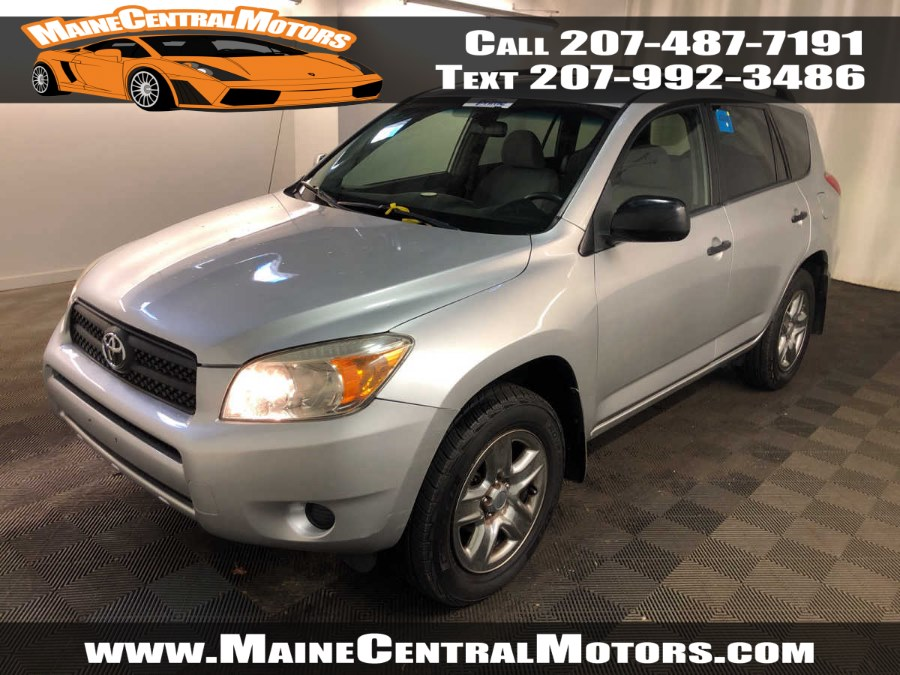 Used Toyota RAV4 4WD 4dr 4-cyl 4-Spd AT (Natl) 2008 | Maine Central Motors. Pittsfield, Maine