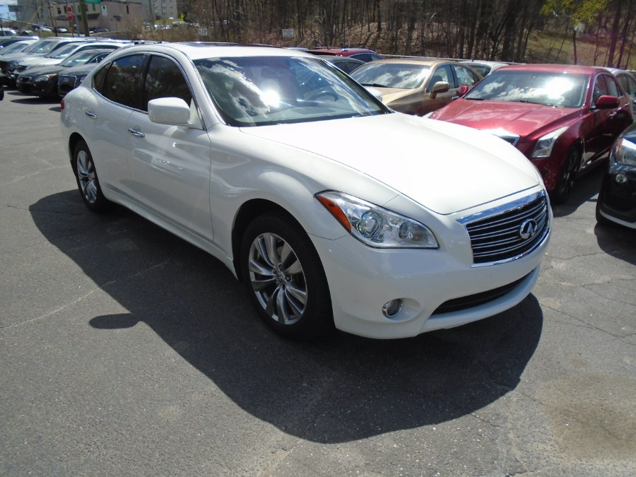 Used Infiniti M37x5 4dr Sdn AWD 2012 | Jim Juliani Motors. Waterbury, Connecticut