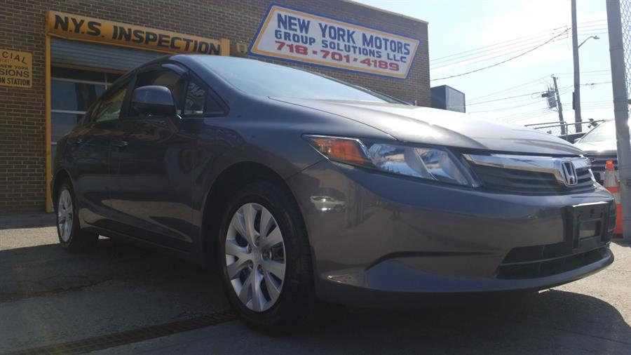 Used 2012 Honda Civic Sdn in Bronx, New York | New York Motors Group Solutions LLC. Bronx, New York