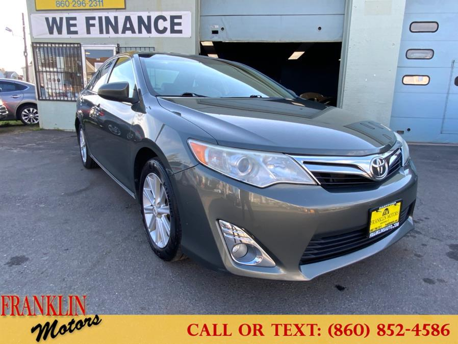 Used 2012 Toyota Camry in Hartford, Connecticut | Franklin Motors Auto Sales LLC. Hartford, Connecticut