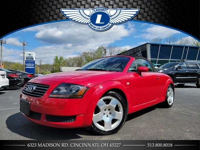 Used Audi Tt 1.8T Roadster 2002 | Luxury Motor Car Company. Cincinnati, Ohio
