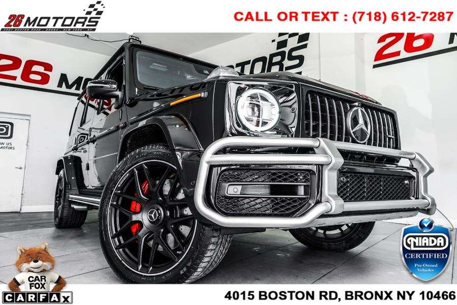 Used Mercedes-Benz G-Class AMG G 63 4MATIC SUV 2019 | 26 Motors Corp. Bronx, New York