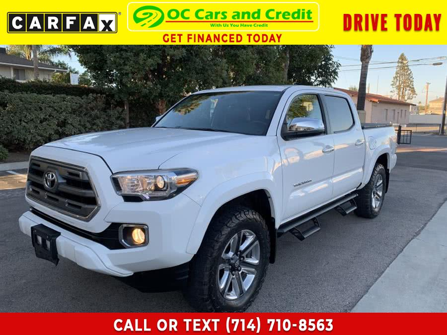 Used 2016 Toyota Tacoma Limited in Garden Grove, California   OC Cars and Credit. Garden Grove, California