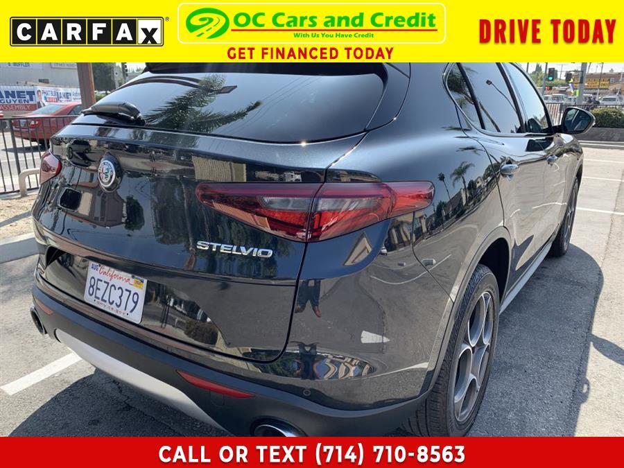Used Alfa Romeo Stelvio SPORT 2018   OC Cars and Credit. Garden Grove, California